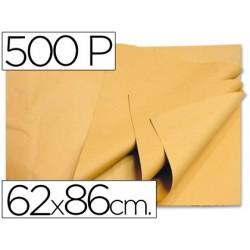 PAPEL MANILA 62X86 CREMA -PAQUETE DE 500 HOJAS