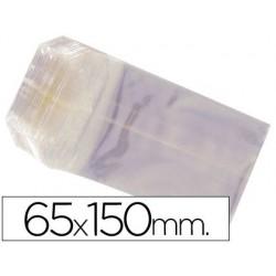 BOLSAS CELOFAN 65X150 MM -PAQUETE 100