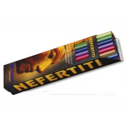 EXPOSITOR PAPEL KRAFT NEFERTITIS 24 ROLLOS DE COLORES SURTIDOS 1X3 MT.