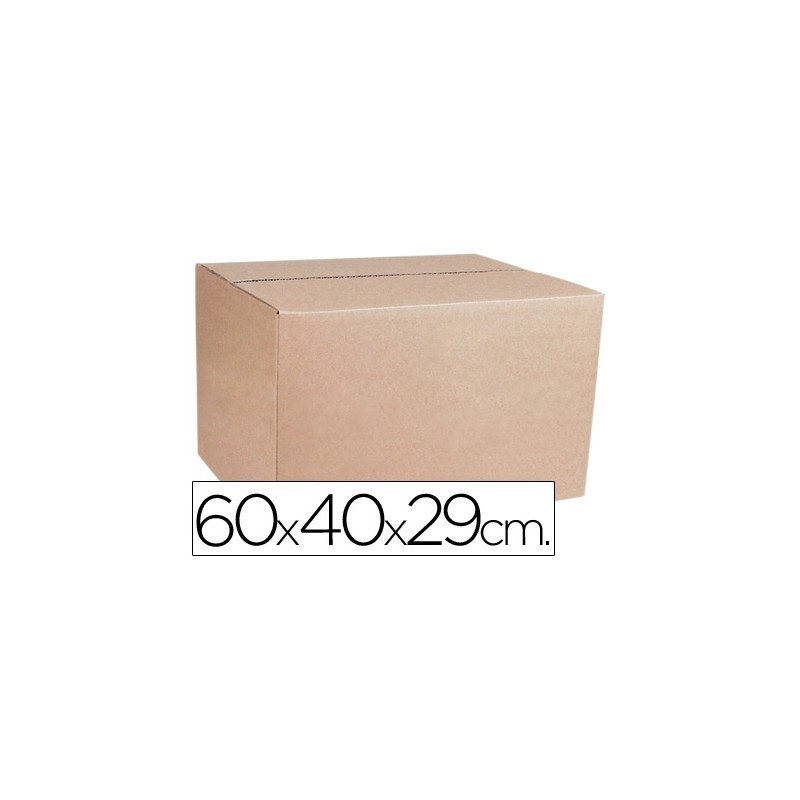 caja para embalar anonimas medidas 600x400x290 mm espesor