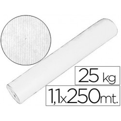 PAPEL KRAFT BLANCO 1,10 MT X 250 MTS ESPECIAL PARA EMBALAJE