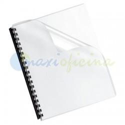 Portada Encuadernación Transparente Cristal 150 Micras A4