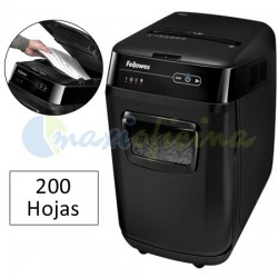 Destructora de Documentos Fellowes AutoMax 200C