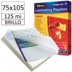 Fundas de Plastificar 125 Micras Brillo 75x105