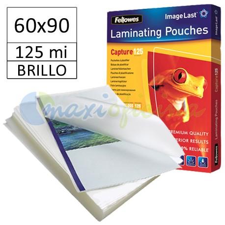 Fundas de Plastificar 125 Micras Brillo 60x90