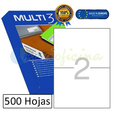 Etiquetas Adhesivas economicas Multi3 210x148mm (10532)