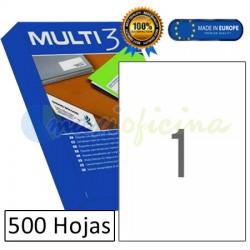 Etiquetas Adhesivas economicas Multi3 210x297mm (10533)