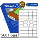 Etiquetas Adhesivas economicas Multi3 48,5x16,9mm (10510)