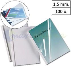 Carpetas Térmicas de 1.5 mm encuadernación Coverlight 100u.