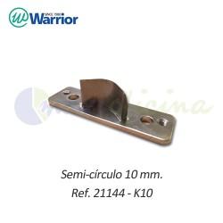 Semicírculo 10 mm. para Redondeadora de esquinas Warrior