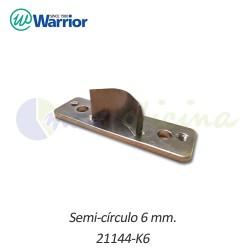 Semicírculo 6 mm. para Redondeadora de esquinas Warrior