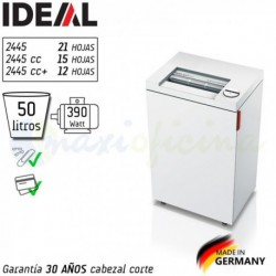 Trituradora de Papel Ideal 2445 made in Germany. OFERTA Online