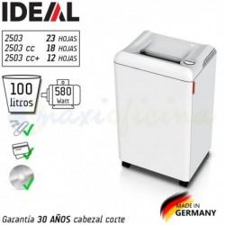Destructora Ideal 2503 el mejor precio. Made in Germany.