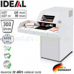 Destructora de Documentos Ideal 4107