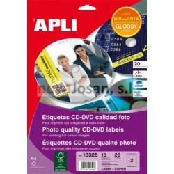 Bolsa Láser y Copiad. COL.GLOSS.CD MEGA 117 10 hojas