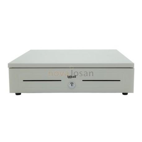 Cajón Portamonedas IRON-1 41cm. Blanco para mostrador de tienda