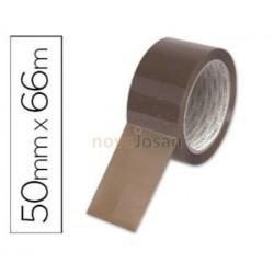 Cinta adhesiva Habana o marrón (precinto) para embalar 66x50mm