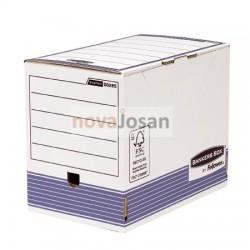 Caja de archivo definitivo A4 200 mm azul