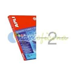 Etiquetas Adhesivas Extra Fuertes Apli 210x148mm 100h