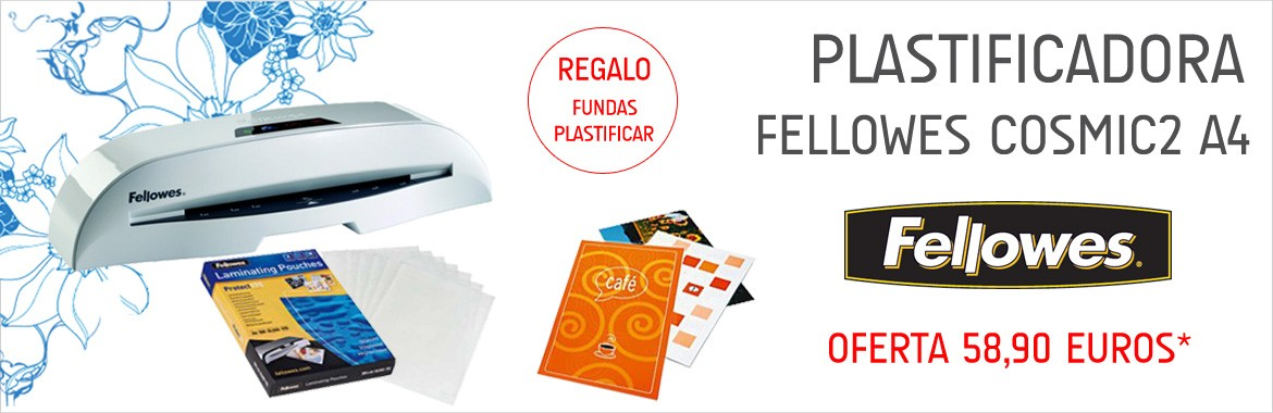 Plastificadora Fellowes Cosmic 2 A4