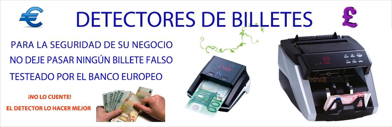 Detectores y contadores de Billetes falsos