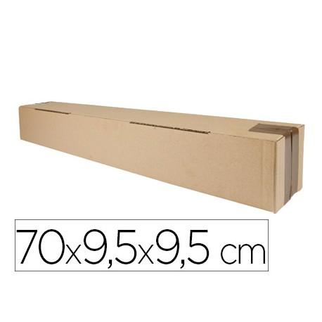 CAJA PARA EMBALAR Q-CONNECT TUBO MEDIDAS 700X95X95 MM ESPESOR CARTON 3 MM