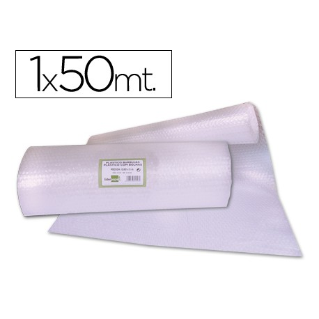PLASTICO BURBUJA LIDERPAPEL 1X50M