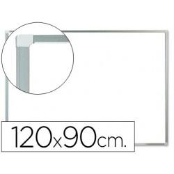PIZARRA BLANCA Q-CONNECT LACADA MAGNETICA MARCO DE ALUMINIO 120X90 CM