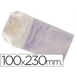 BOLSAS CELOFAN 100X230 mm -PAQUETE 100 pack mínimo 1000 bolsas