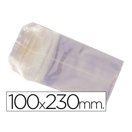 BOLSAS CELOFAN 100X230 MM -PAQUETE 100