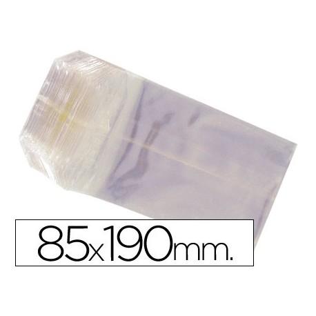 BOLSAS CELOFAN 85X190 MM -PAQUETE 100
