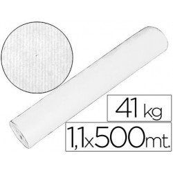 PAPEL KRAFT BLANCO 1,10 MT X 500 MTS ESPECIAL PARA EMBALAJE