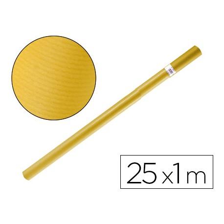 PAPEL KRAFT LIDERPAPEL AMARILLO ROLLO 25X1 MT