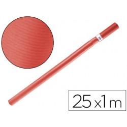 PAPEL KRAFT LIDERPAPEL ROJO ROLLO 25X1 MT
