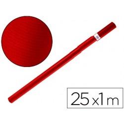 PAPEL KRAFT LIDERPAPEL ROJO CHERRY ROLLO 25X1 MT