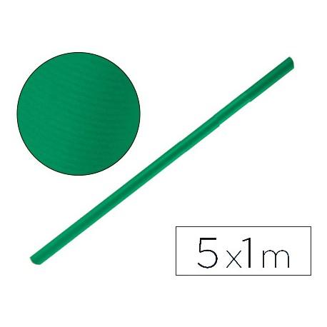 PAPEL KRAFT LIDERPAPEL VERDE MUSGO ROLLO 5X1 MT