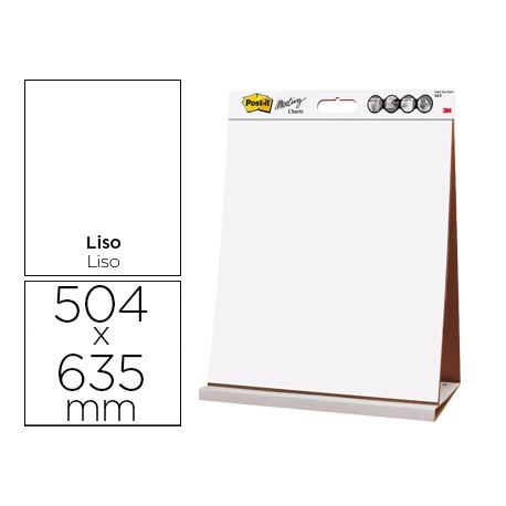 BLOC CONGRESO POST-IT LISO RECICLADO 504 X 635 MM CON 20 HOJAS