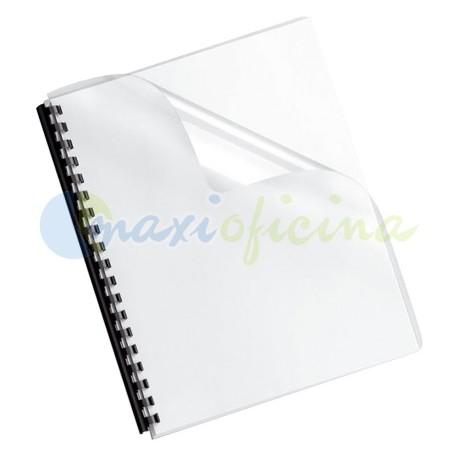 Portada Encuadernación Transparente Cristal 200 Micras A4