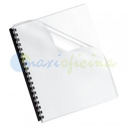Portada Encuadernación Transparente Cristal 300 Micras A4