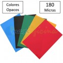 Portada Encuadernación PVC A4 180 micras Colores Opacos