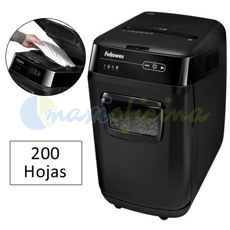 Destructora de Papel Fellowes AutoMax 200C