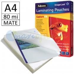 Fundas de Plastificar A4 80 Micras Mate