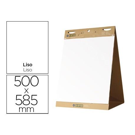 BLOC CONGRESO BI-OFFICE LISO AUTOADHESIVO SOBREMESA 500 X 585 MM PAPEL DE 80G/M