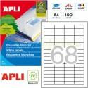 Etiquetas Adhesivas Apli 48,5 x 16,9mm 100h Ref.01282