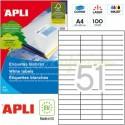 Etiquetas Adhesivas Apli 70 x 16,9mm 100h Ref.01294