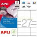 Etiquetas Adhesivas Apli 70x30mm 500h Ref.10560