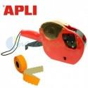 Máquina Etiquetadora de precios APLI para comercio 2 líneas