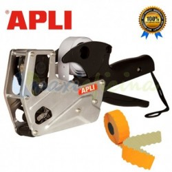 Máquina Etiquetadora de precios APLI para comercio Carcasa Metálica Premium