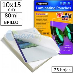 Fundas para Plastificar Foto 150x100mm. 80 Micras - Pack 25