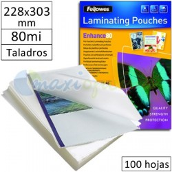 Fundas para Plastificar 228x303mm MultiTaladro